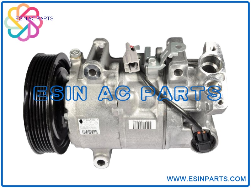 DENSO 6SEL14C Auto Air Conditioning Compressor For Renault Scenic / Megane / Grand Scenic III 8200939386