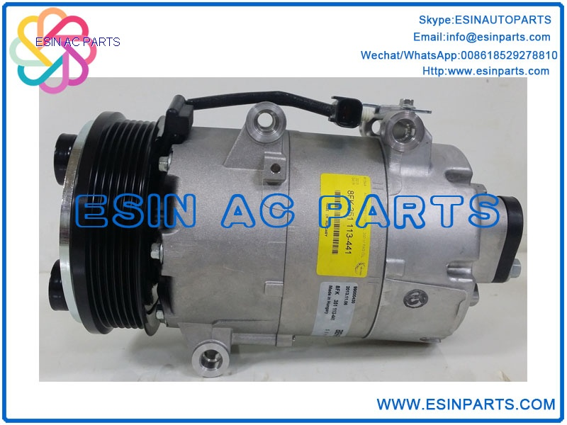 VS16 Auto Air Conditioning Compressor For Ford Focus C-MAX  Volvo S40 V50  3M5H-19D629-DC