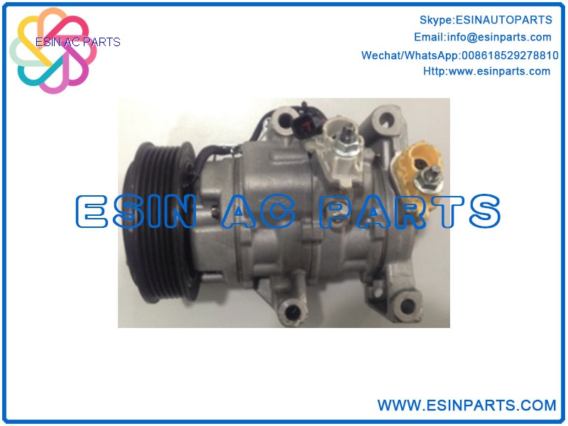 DENSO 10SRE13C Auto Air Conditioning Compressor For FORD TRANSIT / TOURNEO COURIER E3B1-19D629-AA