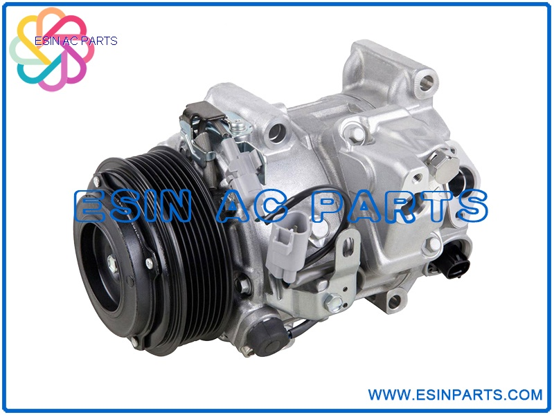 A//C Compressor and Clutch Denso 471-1242 for Toyota 4Runner 2.7 L4 1996-2000