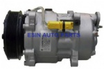 SD7V16 Auto Ac Compressor Fit Citroen C5 For Peugeot 307 9646416780